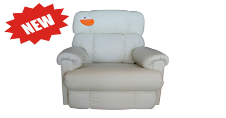 Pinnacle White Recliner